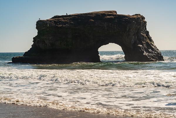 Natural Bridges State Beach in California