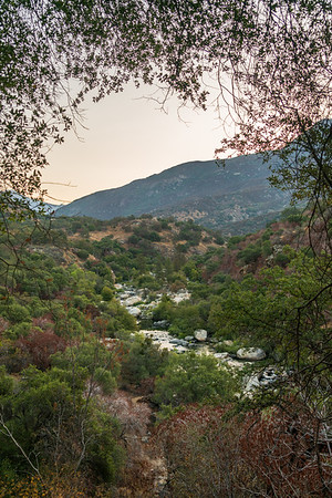 Sunrise Valley and Stream at Sequoia National Park