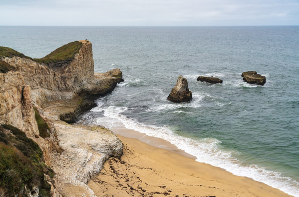 Sharktooth Cove in Santa Cruz, California