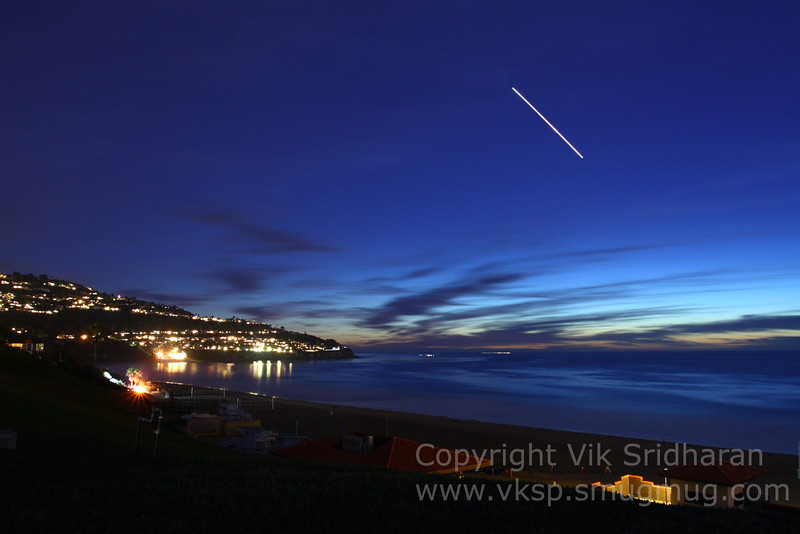 Venus in the evening over Palos Verdes.