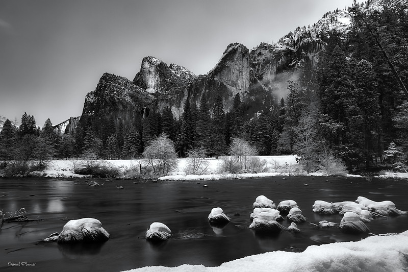 Valley View In Winter