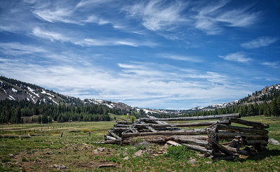 Old Log Cabin in Hope Valley
