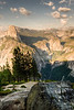 Glacier Point<br /> <br /> View of Half-Dome & Vernal Falls from Glacier Point. <br /> Yosemite National Park, California, USA