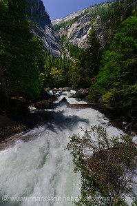 Mist Trail to Vernal Falls, Yosemite Nat'l Park, CA