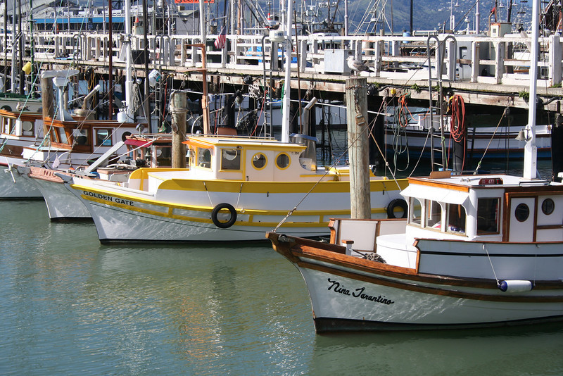 Fishermans Warf, CA