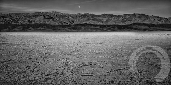 Moonset Over the Playa