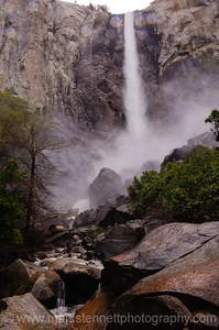 Bridalveil Falls, Yosemite Nat'l Park, CA