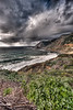 Blustery Beach<br /> <br /> A thunderstorm rolls in over a beach<br /> Pacific Coast Highway, California, USA