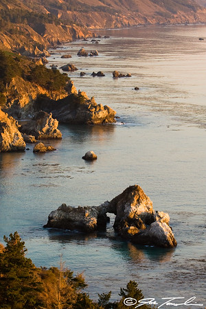 Evening Tranquility in Big Sur