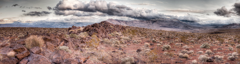 Death Valley Clouds<br /> <br /> Thunderstorm looms over the valley<br /> Death Valley, California, USA