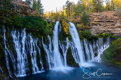 Burney Falls in the morning