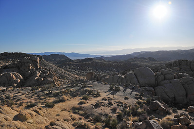 Salton Sea from below Mastodon Peak