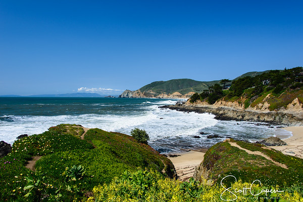 Just a beautiful clear day at Point Montara.
