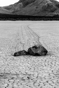The Racetrack, in Death Valley CA