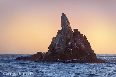 Flippin the Bird Rock Mendicino County - Lost Coast