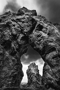 Lost Coast Doorway Northern California, Mendicino County