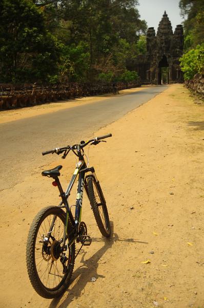 The maingate to Angkor
