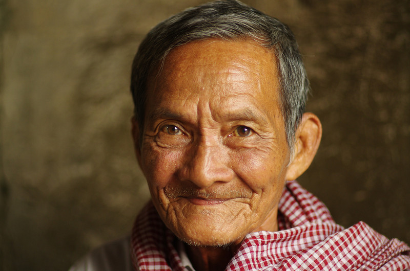 One of the most inspiring persons I have ever met. He knew everything of Khmer history and survived the Khmer Rouge...