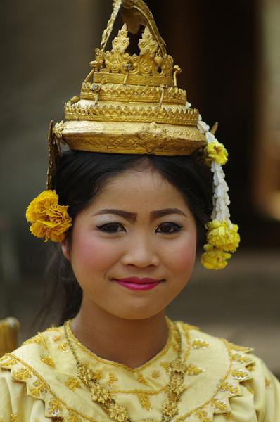 Tradiotional Khmer clothing