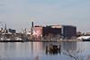 Waterfront looking towards the Northern Liberties area of Philadelphia