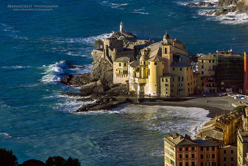 11/01/2013 15:38 Camogli, Golfo del Paradiso. Riviera Ligure di Levante, Genoa Italy