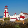 East Quoddy Lighthouse. This is located on Campobello Island, New Brunswick, Canada.