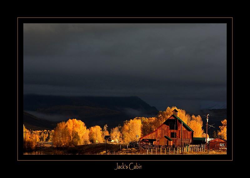 Near Jack's cabin
