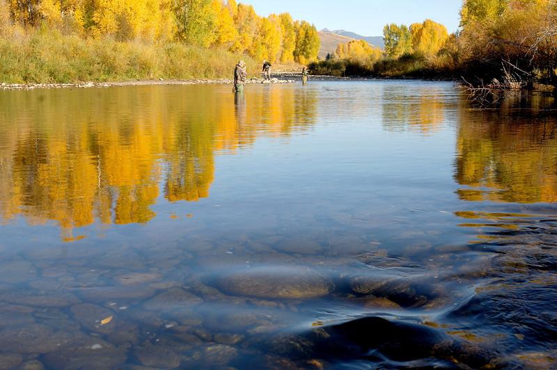 Fly fishing Slate river , october 2 2011