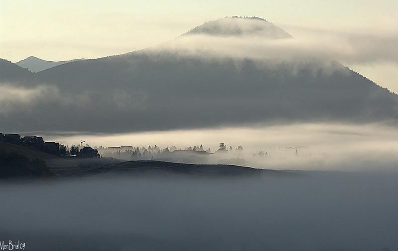 Fog in Crested-Butte