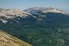 Lost lake & Beckwith mountain range