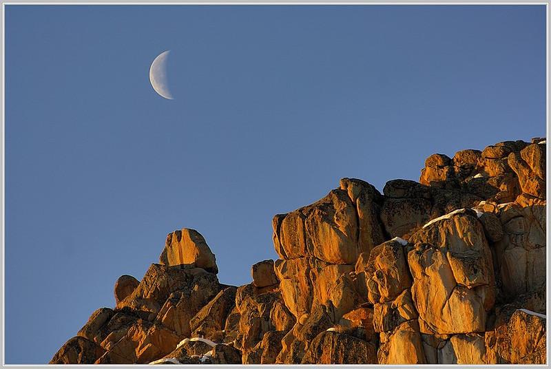 The ridge , (Hartman rocks , Gunnison)