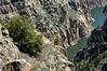 Gunnison river in Black canyon