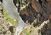 900 feet drop off /  falaises 280 metres Black Canyon Gunnison