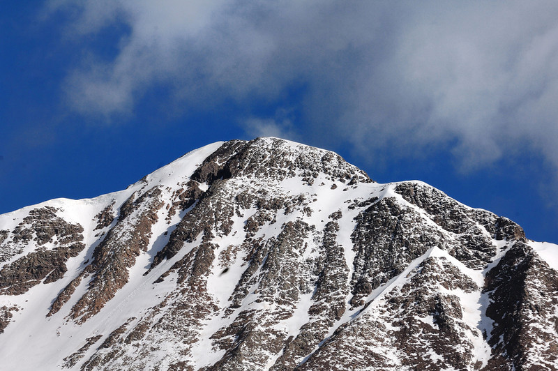Mt Owen ( May 25 in the morning ) Elevation 13058 feet / Altitude 3980metres