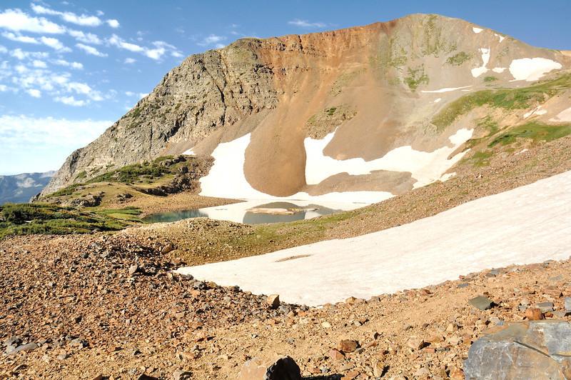 Ruby Peak and Green Lake