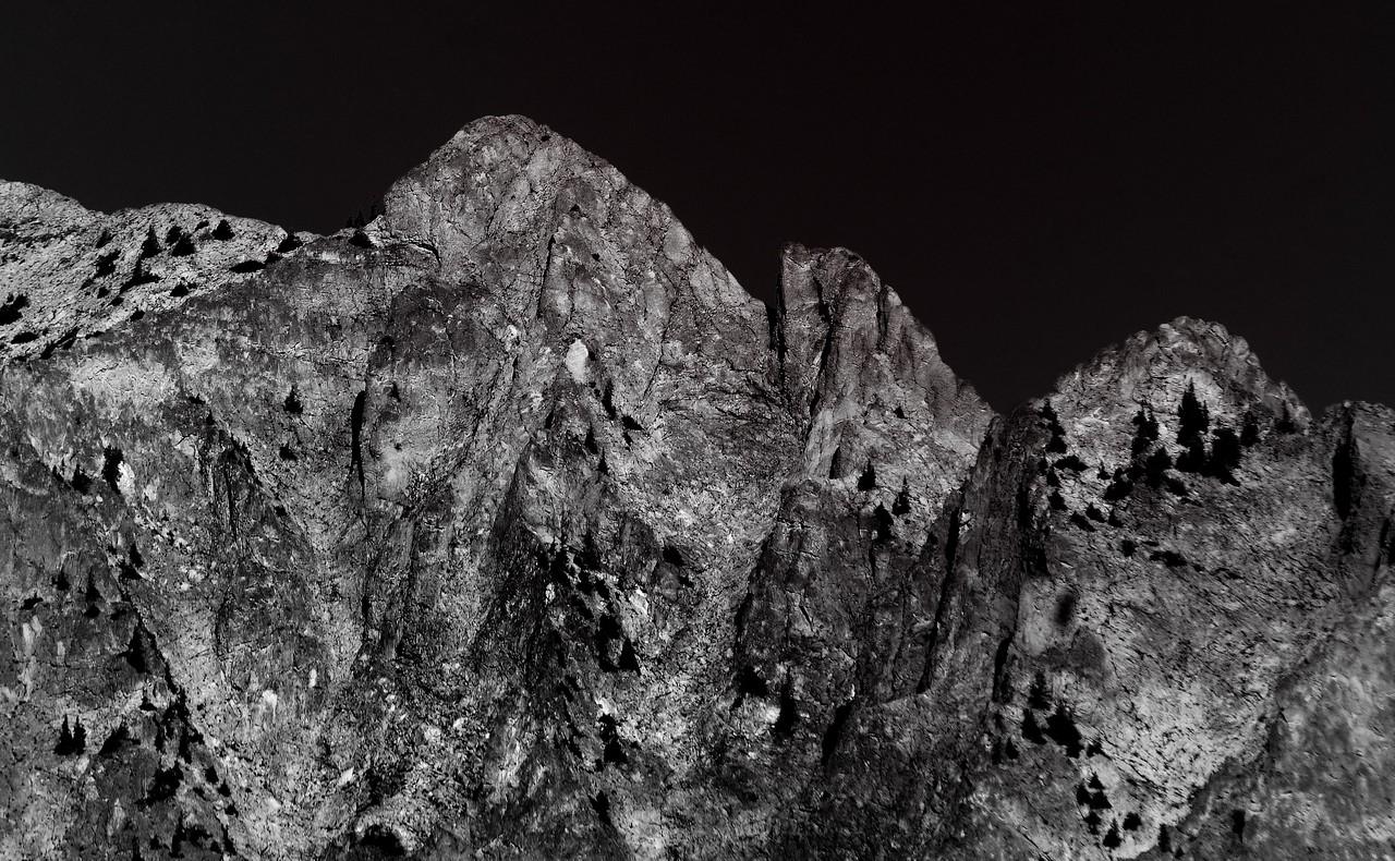 Moonlight in the Rockies