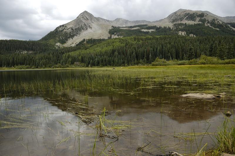 Lost lake and Beckwith range