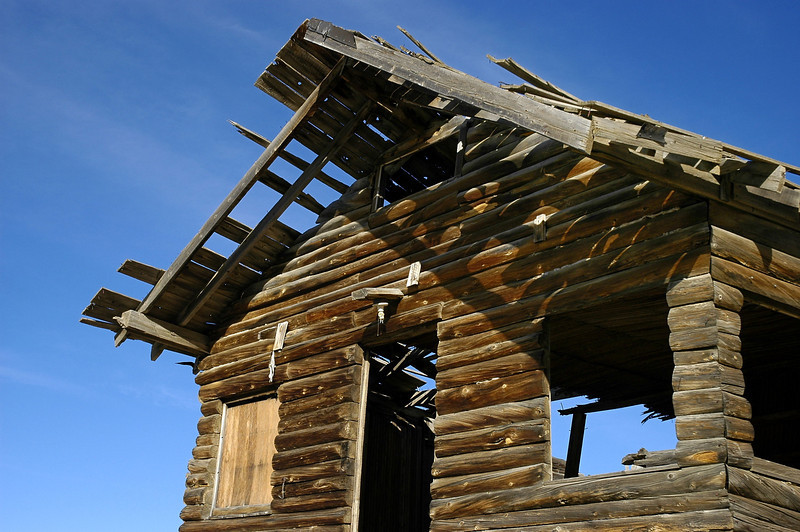 Log cabin in Taylor
