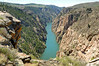 Gunnison river next to PIoneer overlook  (Black canyon)