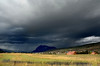 Afternoon thunderstorm on Crested-Butte