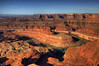 Colorado river overlook (dead horse point Utah)