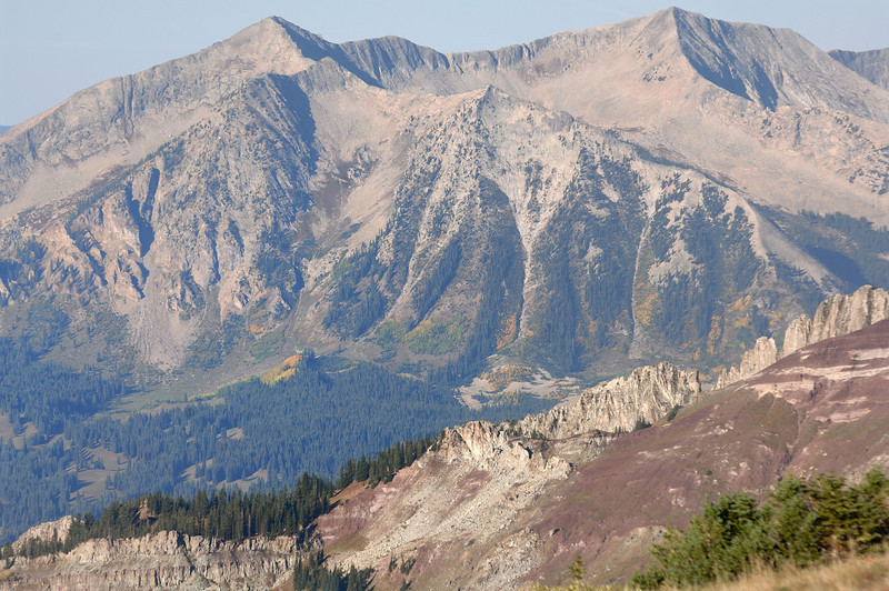 Beckwith and the Dyke from Scarp Ridge
