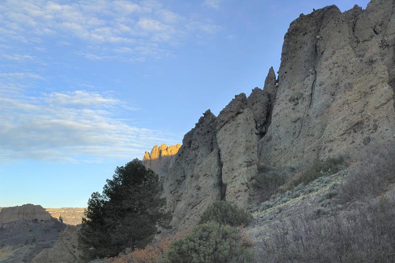 Dillon pinnacles, Gunnison