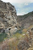 Gunnison river , (East side of Black canyon )