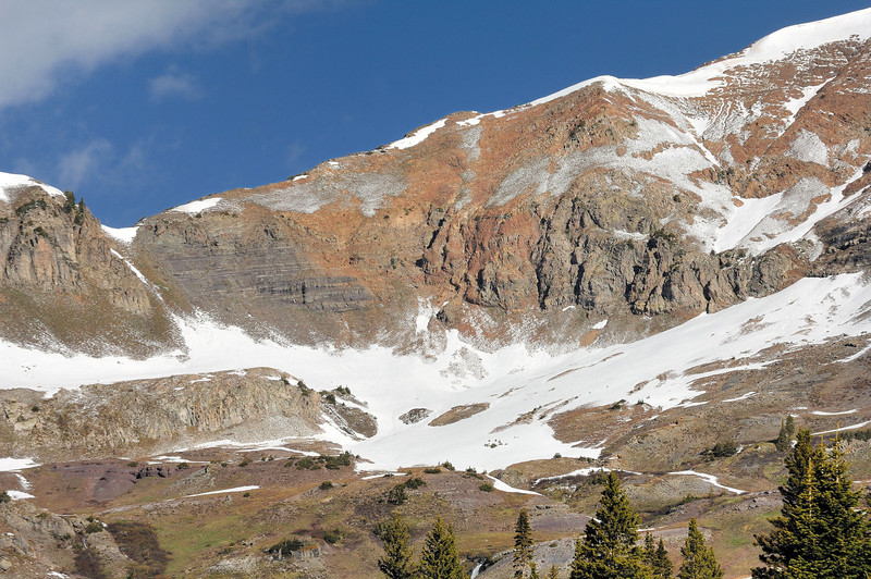 Ruby Range ; on the right the ridge toward Ruby Peak