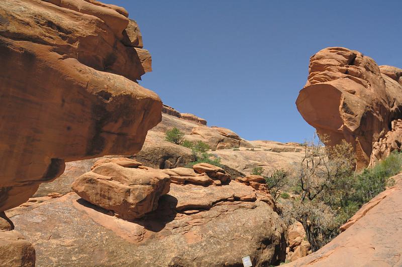 Broken Wall Arch ( Moab , Utah )