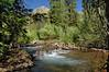 Mt Belleview and beaver dam (Rustler Gulch)