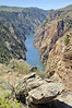 Gunnison river next to Pioneer overlook.  ( Black Canyon )