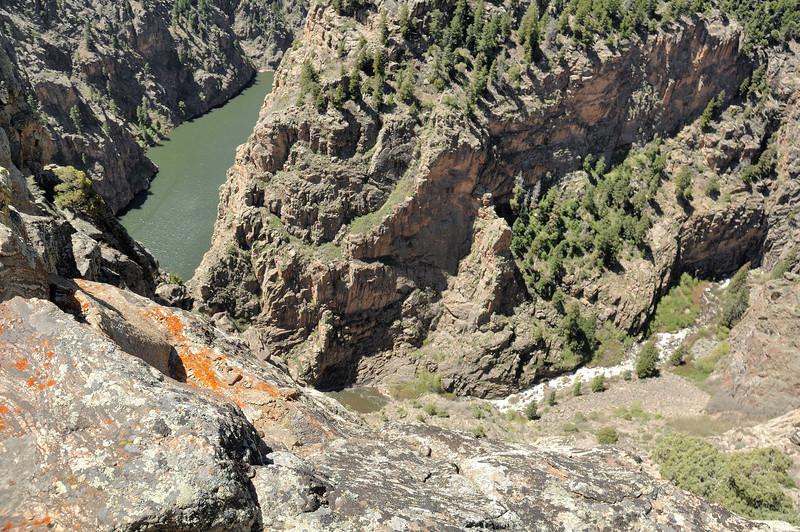 2 kayaks  Gunnison Black Canyon