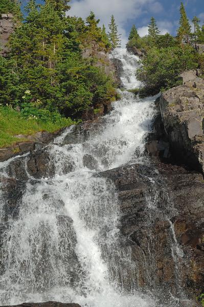 Green lake fall